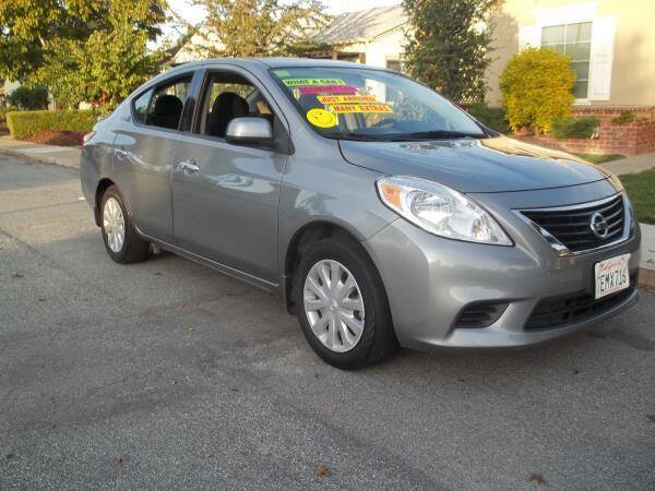 2014 Nissan Versa for sale at Top Notch Auto Sales in San Jose CA