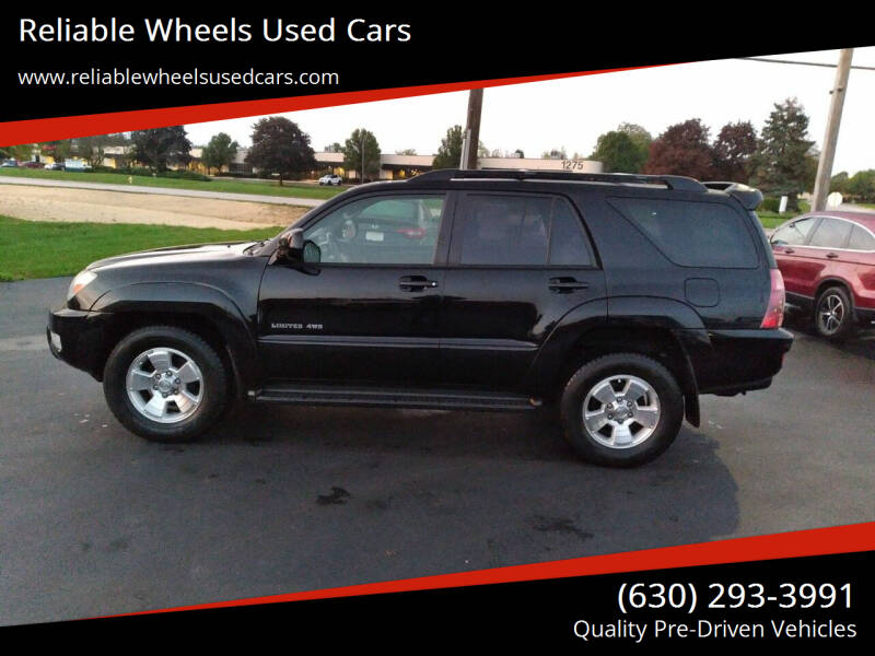 2005 Toyota 4Runner for sale at Reliable Wheels Used Cars in West Chicago IL