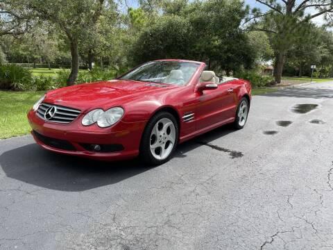 2004 Mercedes-Benz SL-Class for sale at GulfCoast Motorsports in Osprey FL