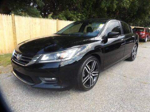 2015 Honda Accord for sale at Wayland Automotive in Wayland MA