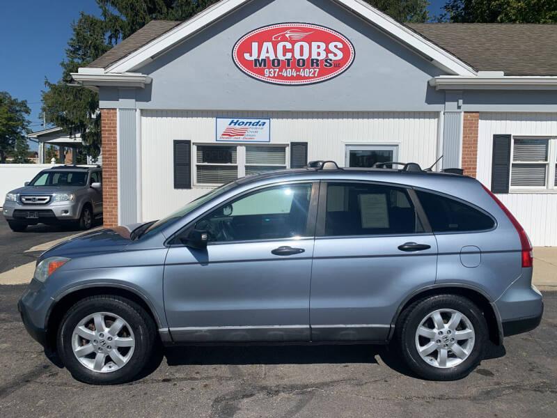 2008 Honda CR-V for sale at Jacobs Motors LLC in Bellefontaine OH
