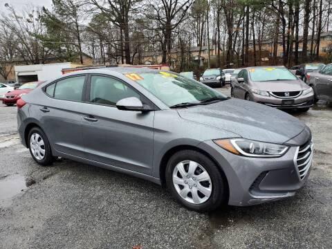 2017 Hyundai Elantra for sale at Import Plus Auto Sales in Norcross GA