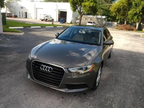 2012 Audi A6 for sale at Best Price Car Dealer in Hallandale Beach FL