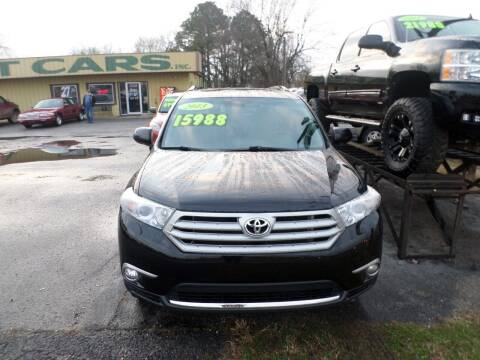 2013 Toyota Highlander for sale at Credit Cars of NWA in Bentonville AR