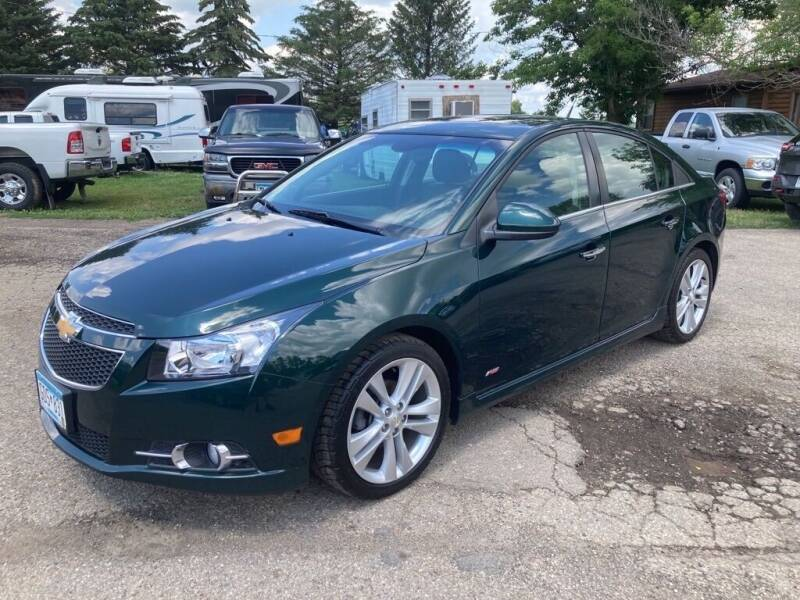 2014 Chevrolet Cruze for sale at COUNTRYSIDE AUTO INC in Austin MN