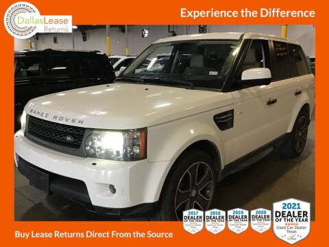 2011 Land Rover Range Rover Sport for sale at Dallas Auto Finance in Dallas TX