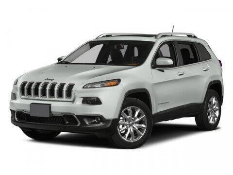 2015 Jeep Cherokee for sale at SCOTT EVANS CHRYSLER DODGE in Carrollton GA