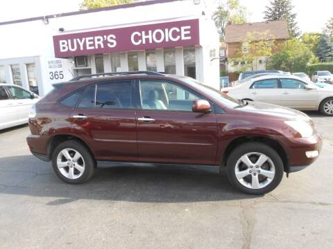 2008 Lexus RX 350 for sale at Buyers Choice Auto Sales in Bedford OH