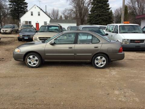 2004 Nissan Sentra for sale at Kimpton Auto Sales in Wells MN