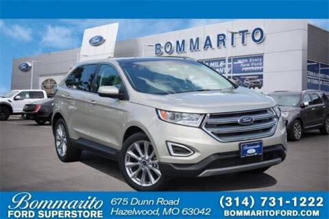 2018 Ford Edge for sale at NICK FARACE AT BOMMARITO FORD in Hazelwood MO