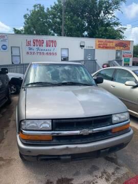 2002 Chevrolet S-10 for sale at Houston Auto Emporium in Houston TX