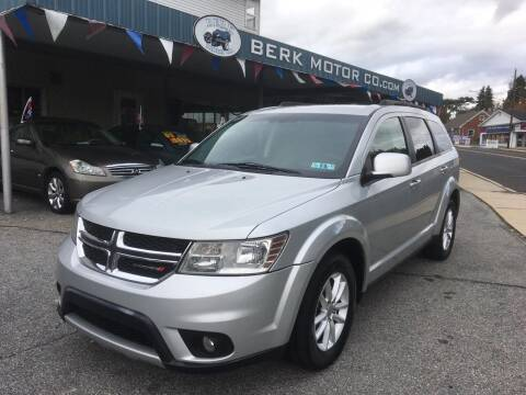 2014 Dodge Journey for sale at Berk Motor Co in Whitehall PA