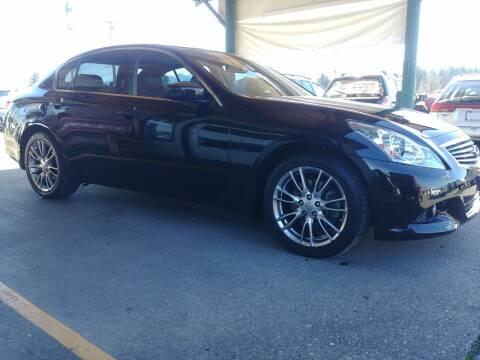 2010 Infiniti G37 Sedan for sale at Low Auto Sales in Sedro Woolley WA