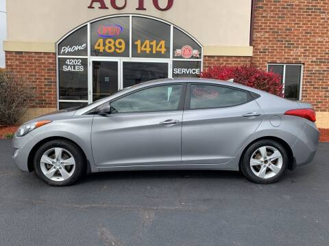 2013 Hyundai Elantra for sale at Professional Auto Sales & Service in Fort Wayne IN