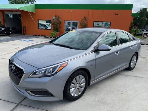 2016 Hyundai Sonata Hybrid for sale at Galaxy Auto Service, Inc. in Orlando FL