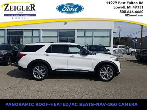 2021 Ford Explorer for sale at Zeigler Ford of Plainwell- Jeff Bishop in Plainwell MI