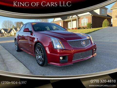 2010 Cadillac CTS-V for sale at King of Cars LLC in Bowling Green KY