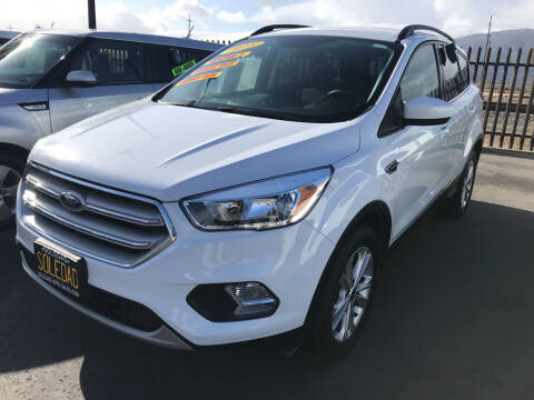 2018 Ford Escape for sale at Soledad Auto Sales in Soledad CA