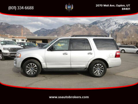 2017 Ford Expedition for sale at S S Auto Brokers in Ogden UT