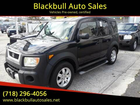 2006 Honda Element for sale at Blackbull Auto Sales in Ozone Park NY