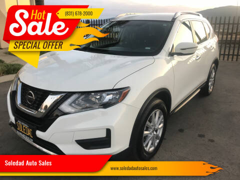 2020 Nissan Rogue for sale at Soledad Auto Sales in Soledad CA