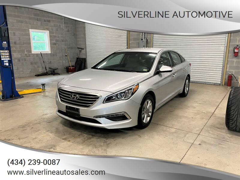 2015 Hyundai Sonata for sale at Silverline Automotive in Lynchburg VA