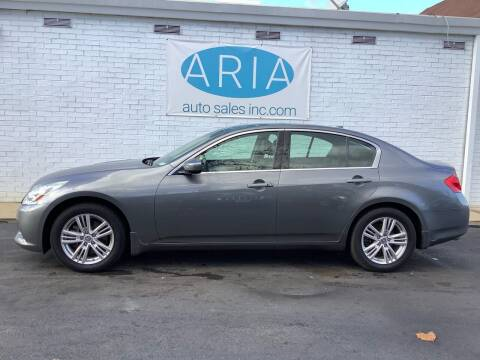 2010 Infiniti G37 Sedan for sale at ARIA  AUTO  SALES in Raleigh NC