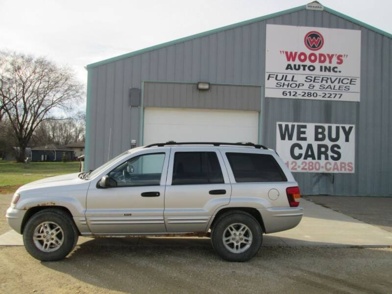 2004 Jeep Grand Cherokee for sale at Woody's Auto Sales Inc in Randolph MN