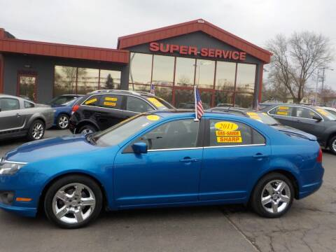 2011 Ford Fusion for sale at Super Service Used Cars in Milwaukee WI