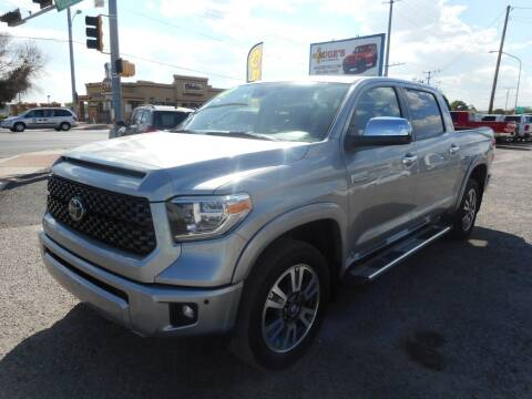 2019 Toyota Tundra for sale at AUGE'S SALES AND SERVICE in Belen NM