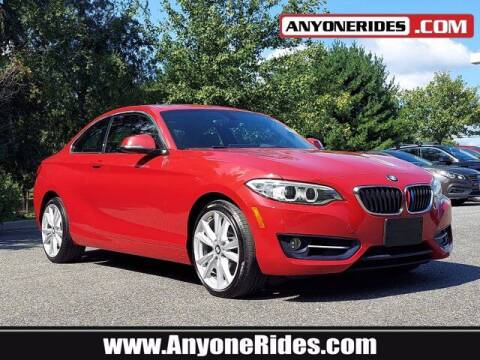 2016 BMW 2 Series for sale at ANYONERIDES.COM in Kingsville MD