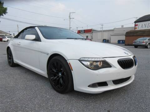 2008 BMW 6 Series for sale at Cam Automotive LLC in Lancaster PA