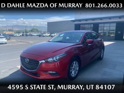 2017 Mazda MAZDA3 for sale at D DAHLE MAZDA OF MURRAY in Salt Lake City UT