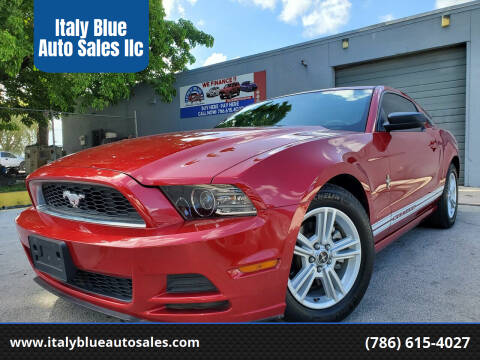 2013 Ford Mustang for sale at Italy Blue Auto Sales llc in Miami FL