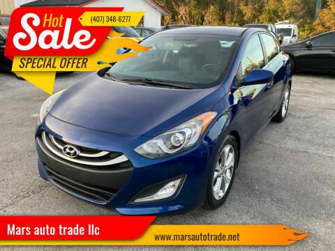 2013 Hyundai Elantra GT for sale at Mars auto trade llc in Kissimmee FL