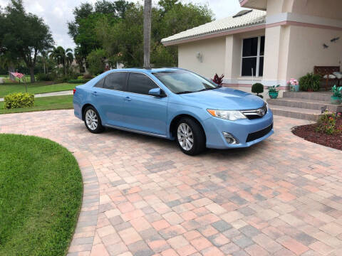 2012 Toyota Camry for sale at Bcar Inc. in Fort Myers FL