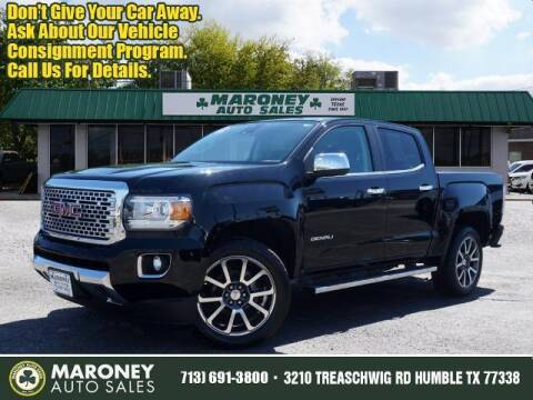 2018 GMC Canyon for sale at Maroney Auto Sales in Humble TX