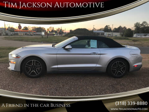 2019 Ford Mustang for sale at Tim Jackson Automotive in Jonesville LA