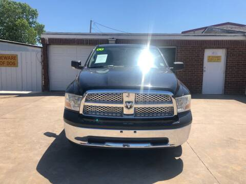 2011 RAM Ram Pickup 1500 for sale at Moore Imports Auto in Moore OK
