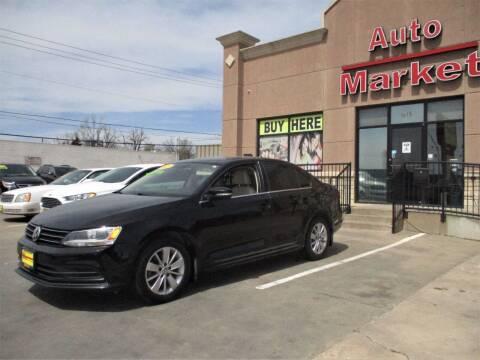 2015 Volkswagen Jetta for sale at Auto Market in Oklahoma City OK