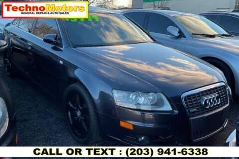2005 Audi A6 for sale at Techno Motors in Danbury CT