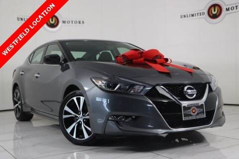 2018 Nissan Maxima for sale at INDY'S UNLIMITED MOTORS - UNLIMITED MOTORS in Westfield IN
