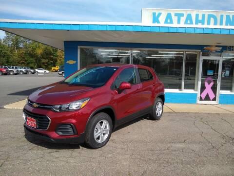 2021 Chevrolet Trax for sale at KATAHDIN MOTORS INC /  Chevrolet Sales & Service in Millinocket ME