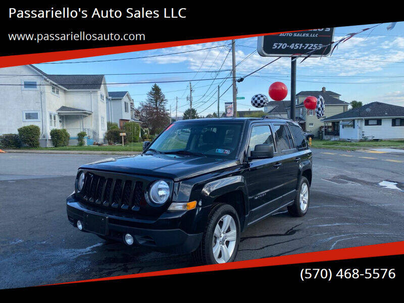 2014 Jeep Patriot for sale at Passariello's Auto Sales LLC in Old Forge PA