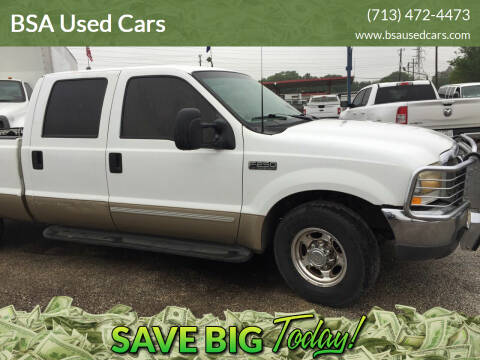2000 Ford F-250 Super Duty for sale at BSA Used Cars in Pasadena TX