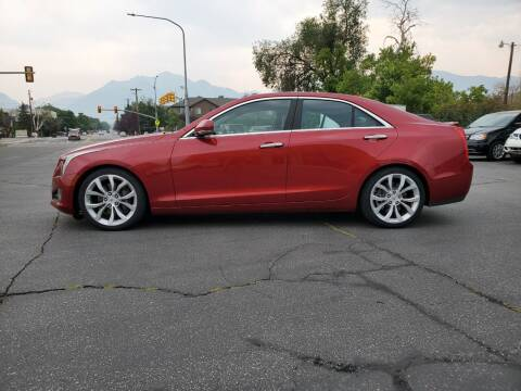 2014 Cadillac ATS for sale at UTAH AUTO EXCHANGE INC in Midvale UT