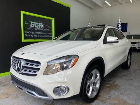 2018 Mercedes-Benz GLA for sale at GCR MOTORSPORTS in Hollywood FL