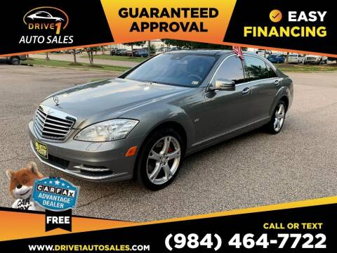 2013 Mercedes-Benz S-Class for sale at Drive 1 Auto Sales in Wake Forest NC