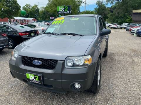 2007 Ford Escape for sale at BK2 Auto Sales in Beloit WI