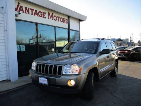 2005 Jeep Grand Cherokee for sale at Vantage Motors LLC in Raytown MO